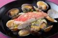 金目鯛とあさりのレモンバター煮
