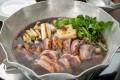 鴨の赤ワイン鍋