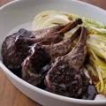 子羊のハニーハーブロースト 白菜ロースト